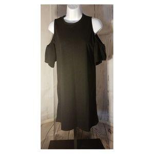 Sociology Women's Cold Shoulder Short Dress - XL